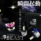 MCR/ACR30/40系 エスティマアエラス ビースト LEDヘッドライト ハイビーム HB3 ホワイト