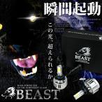 JF1/2 NBOXカスタム ビースト LEDヘッドライト ハイビーム HB3 6000K(ホワイト) (N-BOX)