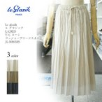 ル グラジック T/C ローン ワッシャープリーツスカート JL-5056SRS 3color Le glazik