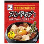おいしい 豆腐 鍋李王家 スンドゥブチゲ4倍濃縮 75g×2パック 12袋セット 代引き不可