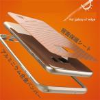 Galaxy S7 edge アルミ バンパーケース/カバー 背面保護送料無料