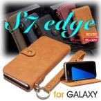 ショッピングGALAXY Galaxy S7 edgeケース SCV33 SC-02Hケース S7 edge ケース 手帳型 財布 大容量 ギャラクシーs7 edgeカバー 手帳 横向き ストラップ Galaxy S7 edgeカバー