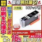 BCI-380XLPGBK 顔料 ブラック キャノン Canon プリンターインク bci381 pixus ts8130 互換インクカートリッジ