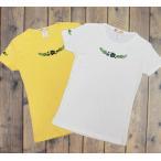 ハイビスカス グリーングラデ柄 レディースTシャツ 半袖 フラダンス ハワイ