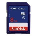 SanDisk SDHCカード 8GB クラス4 SDSDB-008G-B35【メール便可能】