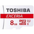 メール便送料無料 東芝 microSDカード 8GB クラス10 48MB/s THN-M301R0080A4 高速 EXCERIAシリーズ