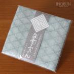 白雪ふきん 友禅染 菊菱小紋 きくびしこもん 30×40cm 縹色 はなだいろ ブルー