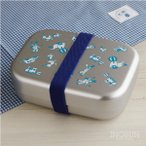 ショッピングランチボックス トイボックス アルミランチボックス 日本製 deuxc ドゥ・セー お弁当箱 370ml ブルー【メール便不可】