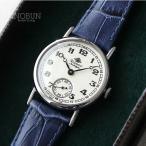 ロゼモン 腕時計 Nostalgia Rosemont N008-SWA EBU シルバー/ブルー(ベルト)【メール便不可】