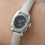 Antique Watches - ★ONSA 腕時計 スイス製 デッドストック 手巻式 アンティーク時計 シルバー/アイボリー(ベルト)【メール便不可】