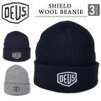 DEUS EX MACHINA デウス エクス マキナ ニット帽 シールド ビーニー キャップ SHIELD BEANIE CAP ウール ユニセックス ブランド インポート メンズ レディース