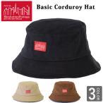 Manhattan Portage マンハッタンポーテージ コーディロイ ハット コーデュロイ バケットハット ロゴ 帽子 bucket hat MP086