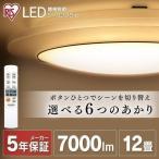 LEDシーリングライト シーリングライト LED 間接照明 照明 おしゃれ タイマー リモコン LED照明 12畳 調色 CL12DL-IDR アイリスオーヤマ