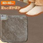 ホットカーペット 電気カーペット 本体 ホットマット 一人用 40×40 正方形 ミニマット コンパクト 足元 デスク下 EC-K4000 TEKNOS テクノス