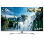 LG UK7500P 4K対応液晶テレビ 49UK7500PJA 49.0インチ