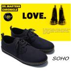 马靴 - 【メンズ・レディースサイズ】/Dr.Martens SNEAKERS SOHO 3 EYE SHOE/【ドクターマーチン スニーカー ソーホー 3ホール】/13528002