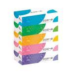 送料無料(まとめ) 大王製紙 エリエール ティッシュー 5箱〔×10セット〕