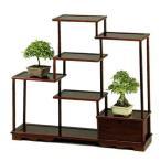 ショッピングシェルフ 盆栽棚 飾り棚 飾棚 飾り台 飾台 シェルフ 和風