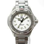 ショッピングタグ TAG Heuer プロフェッショナル 4000シリーズ レディース腕時計 デイト クオーツ 文字盤ホワイト SS WF1412 【レディース】【watch】.【z80508*hmn】