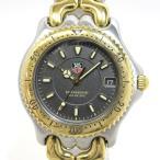 ショッピングタグ TAG Heuer セルシリーズ プロフェッショナル メンズ腕時計 デイト クオーツ SS×GP 文字盤グレー WG1120-KO 【メンズ】【watch】.【z80618*hmu5n】