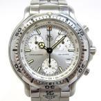 ショッピングタグ TAG Heuer 6000シリーズ クロノグラフ メンズ腕時計 クオーツ SS 文字盤シルバー CH1110 【メンズ】【watch】.【z80618*hmku4n】