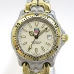 ショッピングタグ TAG Heuer セルシリーズ プロフェッショナル200 レディース腕時計 デイト クオーツ SS×GP 文字盤ベージュ WG1321-0 【レディース】【watch】.【z80618*hmn】