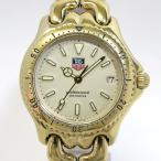 ショッピングタグ TAG Heuer セルシリーズ プロフェッショナル ボーイズ腕時計 デイト クオーツ SS/GP 文字盤ベージュ S94.013K 【ボーイズ】【watch】.【z80618*hmn】