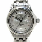 OMEGA シーマスター120 レディース腕時計 デイト SS クオーツ 文字盤シルバー 2571.31 【レディース】【watch】.【z80620*hmn】