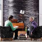 輸入壁紙 だまし絵 クロス 黒が印象的な白樺 368cm×254cm ドイツ製壁紙 粉のり付属/8-700 Birkenrinde