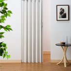 アコーディオンカーテン つっぱり式 パネルドア イージー/ 幅100cm×高さ174cm[直送品]