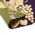 京の両面おもてなし ふろしき 中巾 葡萄 葡萄色 ぶどういろ 14-054109