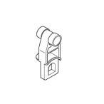 カーテンレール 部品 TOSO C型レール SCランナー(後入れ用)(10ケ入り) 部品販売