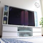 【2/上】送料無料 テレビ台 ゲート型 50インチ 大型テレビ対応 ホワイト