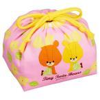 お弁当袋 ランチ巾着 がんばれ ルルロロ 子供用 キャラクター ( 子ども用 給食袋 子供用お弁当袋 ランチボックス巾着 )