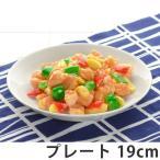 プレート 19cm 洋食器 軽量強化磁器 フォルテモア ( 白い食器 強化 軽量 割れにくい 器 皿 食器 )