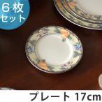 プレート 17cm 洋食器 ガーデンハーベスト 硬質陶器 6枚セット ( 皿 食器 器 お皿 電子レンジ対応 食洗機対応 オーブン対応 )