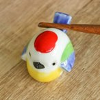 箸置き おしゃれ スズメ 正月 はしおき 磁器 食器 ( カトラリーレスト 鳥 箸置 すずめ 雀 箸おき 箸やすめ )