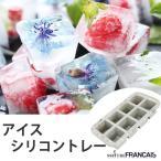 製氷皿 MATRE FRANCAIS メルトフランセ 8 ラージキューブ グレーマーブル シリコン製 ( 製氷器 アイストレイ ブロックアイス )