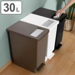 ゴミ箱 ペダル ユニード プッシュ&ペダル 30リットル ( キッチン ごみ箱 ふた付き ダストボックス )