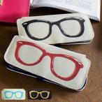 メガネケース スリム メガネ柄 おしゃれ 眼鏡ケース Calmo カルモ ( メガネ ケース プレゼント )