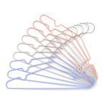 洗濯ハンガー 収納ハンガー 洗濯・収納どちらにでも使えるすべりにくいハンガー 10本組 ( ハンガー 収納 洗濯 )