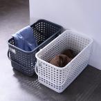 ランドリーバスケット スタッキングランドリーバスケットM LBB-11C バイオプラスチック配合 ( 洗濯かご バスケット ランドリーボックス ライクイット )