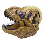 テープカッター テープデディスペンサー ティラノサウルス 化石 恐竜 ( セロハンテープ台 文具 文房具 ステーショナリー )