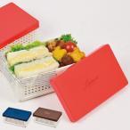 お弁当箱 レノン 折りたたみランチボックス サンドイッチケース ( 弁当箱 仕切り付き サンドイッチ コンパクト )