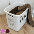 ランドリーバスケット 深型 洗濯カゴ バスケット 洗濯 ランドリー ( 洗濯物 脱衣カゴ 収納バスケット かご )