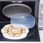電子レンジ 調理用品 たこ焼き たこチン君 ( たこ焼き器 タコ焼きプレート 冷凍たこ焼き 温め 16穴 16個 調理器具 )