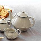 ティーポット 300ml ワンダラブル wonderable 陶器 ポット 食器 洋食器 ( 食洗機対応 電子レンジ対応 紅茶ポット ストレーナー セット )