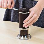 コーヒーミル 手動 セラミック ステンレス 日本製 ( ミル コーヒー豆 手挽き 粉末 コーヒー挽き機 豆 セラミック刃 )