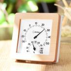 温湿度計 木目調 アナログ式 電池不要 温度計 湿度計 ( 温湿計 アナログ 壁掛け 卓上 )