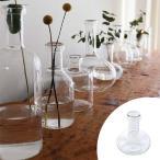 フラワーベース LABO GLASS A ( 花瓶 ガラスベース エアプランツ )